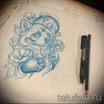 Пример эскиза тату энот для нанесения татуировки - tatufoto.ru - 36