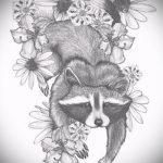 Пример эскиза тату энот для нанесения татуировки - tatufoto.ru - 37