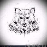 Пример эскиза тату энот для нанесения татуировки - tatufoto.ru - 44