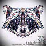 Пример эскиза тату энот для нанесения татуировки - tatufoto.ru - 45