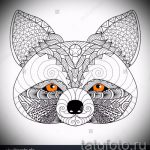 Пример эскиза тату энот для нанесения татуировки - tatufoto.ru - 48