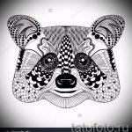 Пример эскиза тату энот для нанесения татуировки - tatufoto.ru - 49