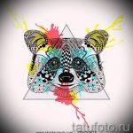 Пример эскиза тату энот для нанесения татуировки - tatufoto.ru - 51