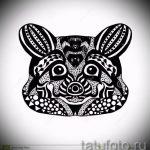 Пример эскиза тату энот для нанесения татуировки - tatufoto.ru - 55