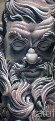 Тату Посейдон – фото для статьи про значение татуировки Посейдон – tatufoto.ru – 1