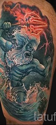 Тату Посейдон – фото для статьи про значение татуировки Посейдон – tatufoto.ru – 10