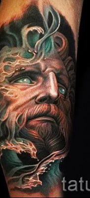 Тату Посейдон – фото для статьи про значение татуировки Посейдон – tatufoto.ru – 17