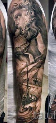 Тату Посейдон – фото для статьи про значение татуировки Посейдон – tatufoto.ru – 29