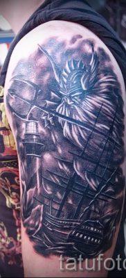 Тату Посейдон – фото для статьи про значение татуировки Посейдон – tatufoto.ru – 36
