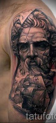 Тату Посейдон – фото для статьи про значение татуировки Посейдон – tatufoto.ru – 38