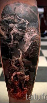Тату Посейдон – фото для статьи про значение татуировки Посейдон – tatufoto.ru – 39