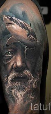 Тату Посейдон – фото для статьи про значение татуировки Посейдон – tatufoto.ru – 40