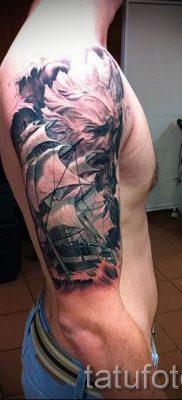 Тату Посейдон – фото для статьи про значение татуировки Посейдон – tatufoto.ru – 43