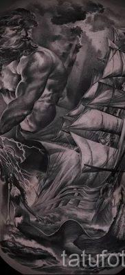 Тату Посейдон – фото для статьи про значение татуировки Посейдон – tatufoto.ru – 46