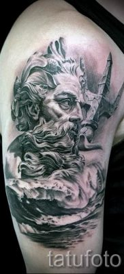 Тату Посейдон – фото для статьи про значение татуировки Посейдон – tatufoto.ru – 54