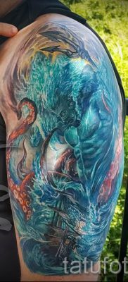 Тату Посейдон – фото для статьи про значение татуировки Посейдон – tatufoto.ru – 57