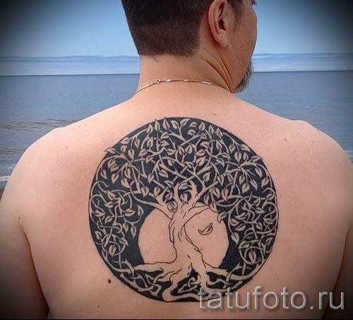 Тату дерево жизни фото для статьи про значение татуировки 4