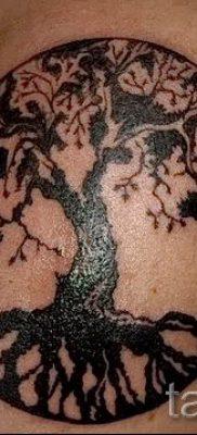 Тату дерево жизни фото для статьи про значение татуировки  8