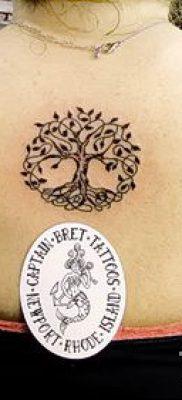 Тату дерево жизни фото для статьи про значение татуировки  9