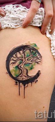 Тату дерево жизни фото для статьи про значение татуировки  16