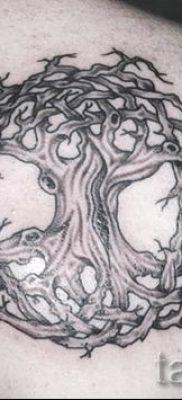 Тату дерево жизни фото для статьи про значение татуировки  21