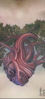 Тату дерево жизни фото для статьи про значение татуировки  22