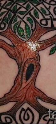 Тату дерево жизни фото для статьи про значение татуировки  24