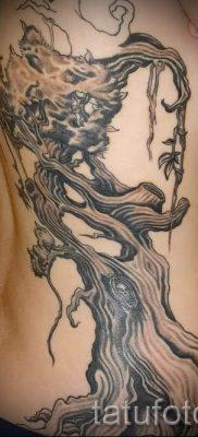 Тату дерево жизни фото для статьи про значение татуировки  34