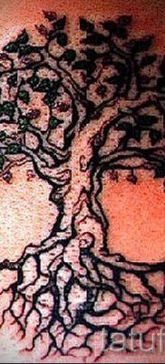 Тату дерево жизни фото для статьи про значение татуировки  35
