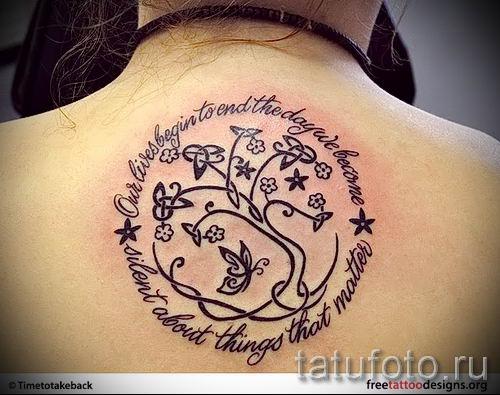 Тату дерево жизни фото для статьи про значение татуировки 37