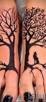 Тату дерево жизни фото для статьи про значение татуировки  41