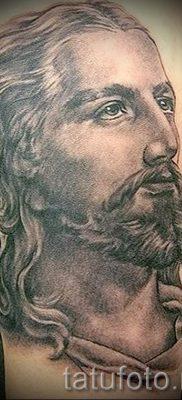 Фото тату Иисуса Христа для статьи про значение татуировки Иисус – tatufoto.ru – 3