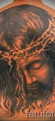 Фото тату Иисуса Христа для статьи про значение татуировки Иисус – tatufoto.ru – 5