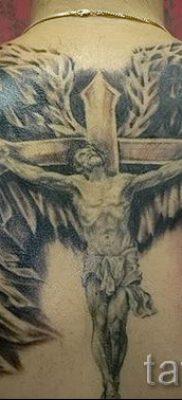 Фото тату Иисуса Христа для статьи про значение татуировки Иисус – tatufoto.ru – 9