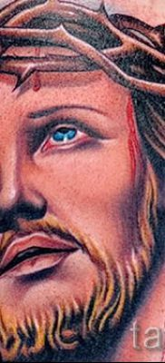 Фото тату Иисуса Христа для статьи про значение татуировки Иисус – tatufoto.ru – 10