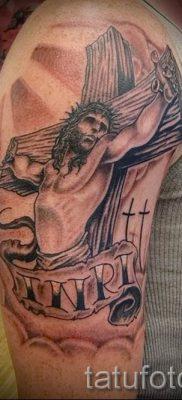 Фото тату Иисуса Христа для статьи про значение татуировки Иисус – tatufoto.ru – 11