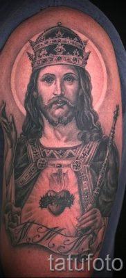 Фото тату Иисуса Христа для статьи про значение татуировки Иисус – tatufoto.ru – 13