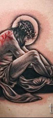 Фото тату Иисуса Христа для статьи про значение татуировки Иисус – tatufoto.ru – 16