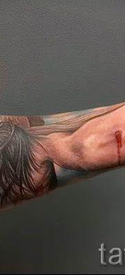Фото тату Иисуса Христа для статьи про значение татуировки Иисус – tatufoto.ru – 23