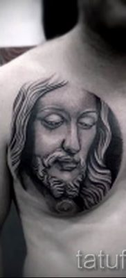 Фото тату Иисуса Христа для статьи про значение татуировки Иисус – tatufoto.ru – 25