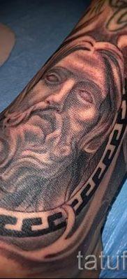 Фото тату Иисуса Христа для статьи про значение татуировки Иисус – tatufoto.ru – 26