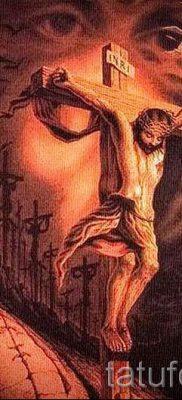 Фото тату Иисуса Христа для статьи про значение татуировки Иисус – tatufoto.ru – 27