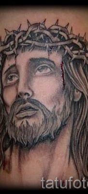 Фото тату Иисуса Христа для статьи про значение татуировки Иисус – tatufoto.ru – 30
