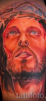 Фото тату Иисуса Христа для статьи про значение татуировки Иисус – tatufoto.ru – 35