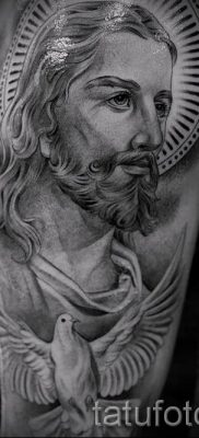 Фото тату Иисуса Христа для статьи про значение татуировки Иисус – tatufoto.ru – 45