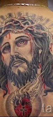 Фото тату Иисуса Христа для статьи про значение татуировки Иисус – tatufoto.ru – 46