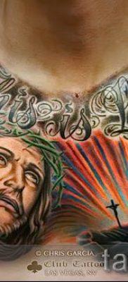Фото тату Иисуса Христа для статьи про значение татуировки Иисус – tatufoto.ru – 47
