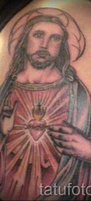 Фото тату Иисуса Христа для статьи про значение татуировки Иисус – tatufoto.ru – 48