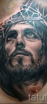 Фото тату Иисуса Христа для статьи про значение татуировки Иисус – tatufoto.ru – 52