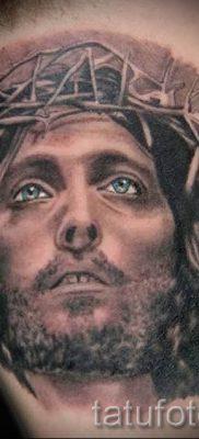 Фото тату Иисуса Христа для статьи про значение татуировки Иисус – tatufoto.ru – 57
